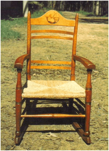Rush Seat Chair